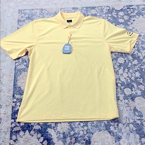 NWT L Greg Norman polo golf shirt